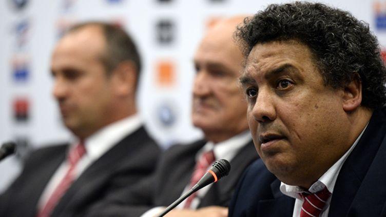 Serge Blanco, vice-président de la FFR (FRANCK FIFE / AFP)
