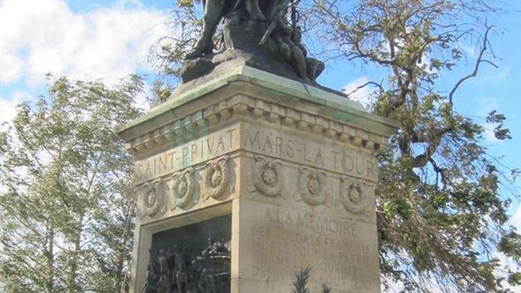 Le monument aux mortsde la guerre franco-prussienne de 1870 de Mars-la-Tour (Meurthe-et-Moselle). (WIKIMEDIA COMMONS)
