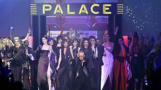 Défilé haute couture printemps-été 2016 de Jean-Paul Gaultier à la gloire du Palace  (MIGUEL MEDINA / AFP)