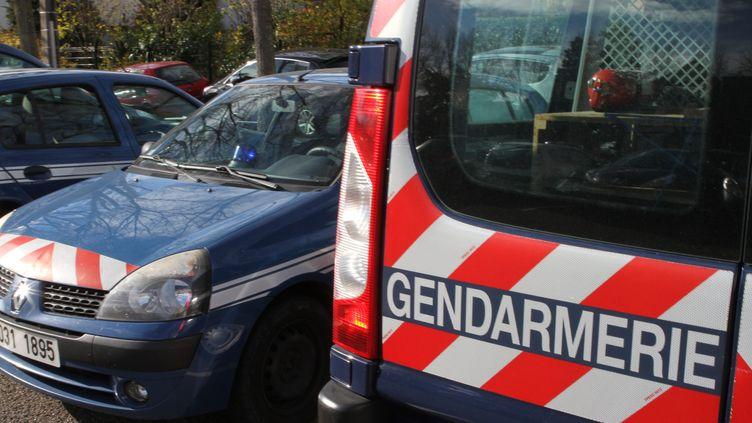Illustration de véhicules de gendarmerie. (MAXPPP)