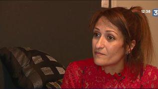 Nathalie Haddadi le 4 septembre 2017 dans son appartement. (france 3)