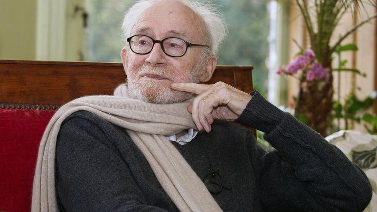 Le dessinateur Pierre de Barrigue de Montvallon, aliasPiem, en janvier 2015. (GUILLAUME SOUVANT / AFP)