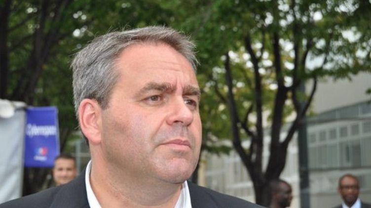 Xavier Bertrand, ministre du Travail (UMP) (citizenside.com)