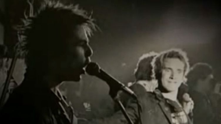 Les Sex Pistols en 1977  (capture YouTube)