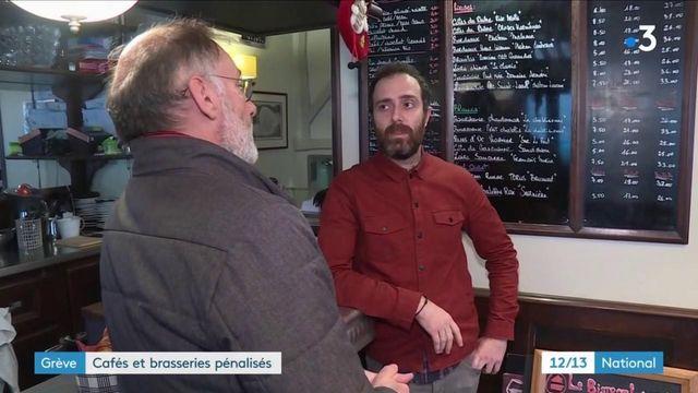 Grève contre la réforme des retraites : à Paris, les bars-restaurants notent une baisse de la fréquentation de 50%