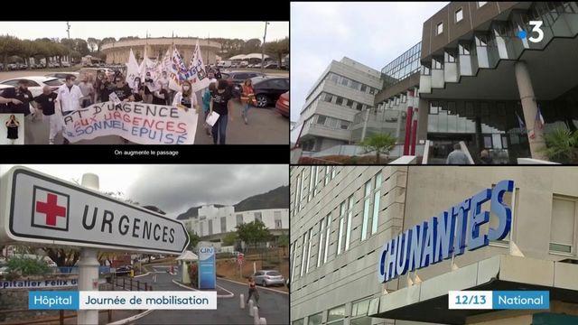 Hôpital public : grande journée de mobilisation partout en France