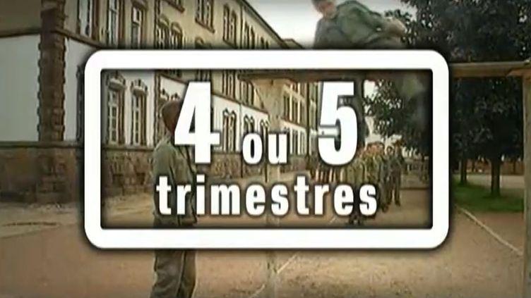 Le service militaire peut rapporter entre 4 et 5 trimestres. ( FRANCE 2 / FRANCETV INFO)