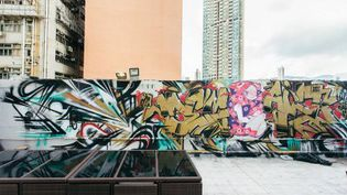 "Le ""street art"" envahit Hong Kong pendant le French May Festival (FRENCH MAY FESTIVAL)"