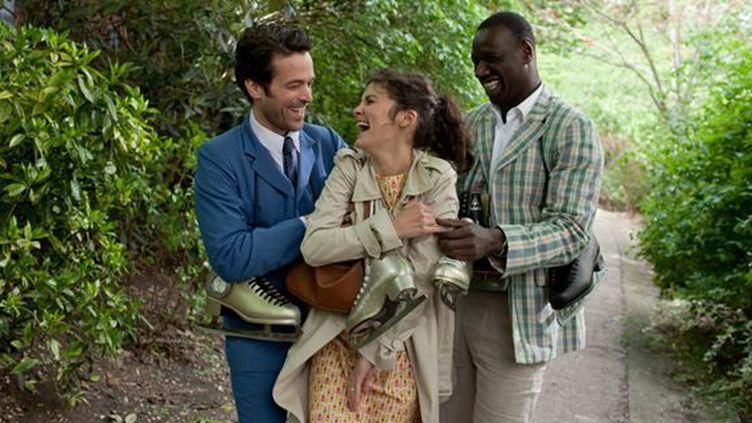 """Romain Duris, Audrey Tautou et Omar Sy dans """"L'Ecume des jours"""" de Michel Gondry  (StudioCanal )"""