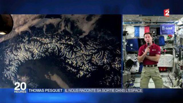 Espace : rencontre avec Thomas Pesquet