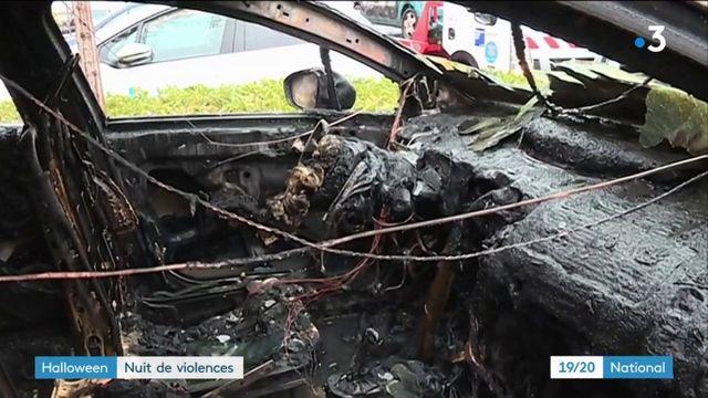 Halloween : une soirée de violences sur toute la France