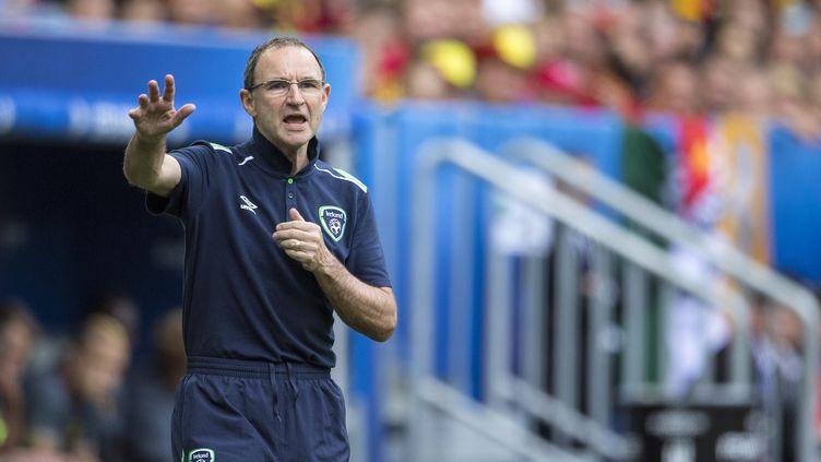 Martin O'Neill, le sélectionneur de l'Eire, pendant l'Euro 2016. (BACKPAGE IMAGES / BACKPAGE IMAGES LTD)
