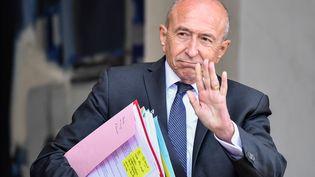 Gérard Collomb, le ministre de l'Intérieur, à la sortie du conseil des ministres le 24 septembre 2018. (JULIEN MATTIA / LE PICTORIUM / MAXPPP)