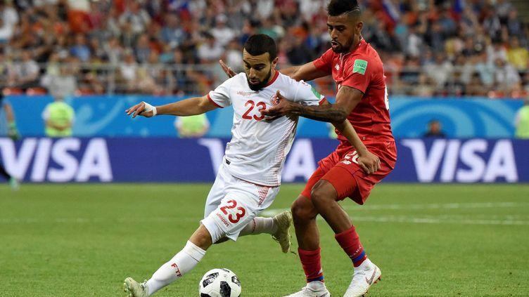 Naïm Sliti a été l'un des joueurs tunisiens les plus en vue (JUAN BARRETO / AFP)