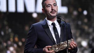 Le réalisateur Xavier Legrand, lors de la 44e cérémonie des César, le 22 février 2019 à Paris. (BERTRAND GUAY / AFP)