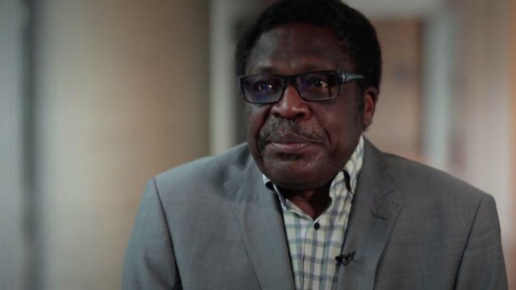 Président de l'association Afrique Avenir, Romain Mbiribindi, s'emploie à promouvoir la santé auprès de la diaspora africaine en France. (France Info)