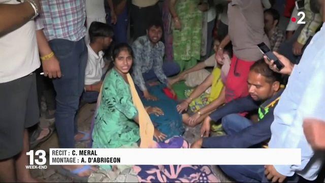 Inde: un accident de train cause la mort de dizaines de personnes