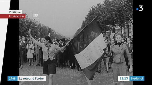 Mai-68 : le retour à l'ordre