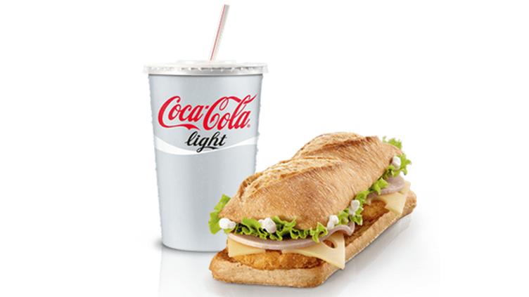 Le sandwich jambon-fromage proposé par McDonald's à partir du mardi 8 janvier 2013 en France. (MCDONALD'S FRANCE)