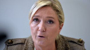Marine Le Pen, le 17 septembre 2015. (JEAN-FRANCOIS MONIER / AFP)