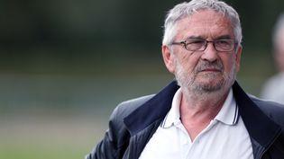 Jean-François Fortin, président du SM Caen, fait partie des neuf personnes renvoyées devant le tribunal correctionnel. (CHARLY TRIBALLEAU / AFP)