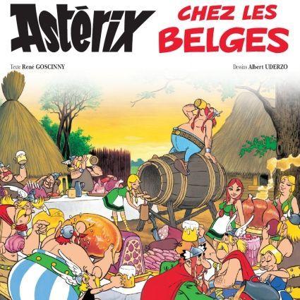 Astérix chez les Belges  (Uderzo/Gosciny/Hachette)