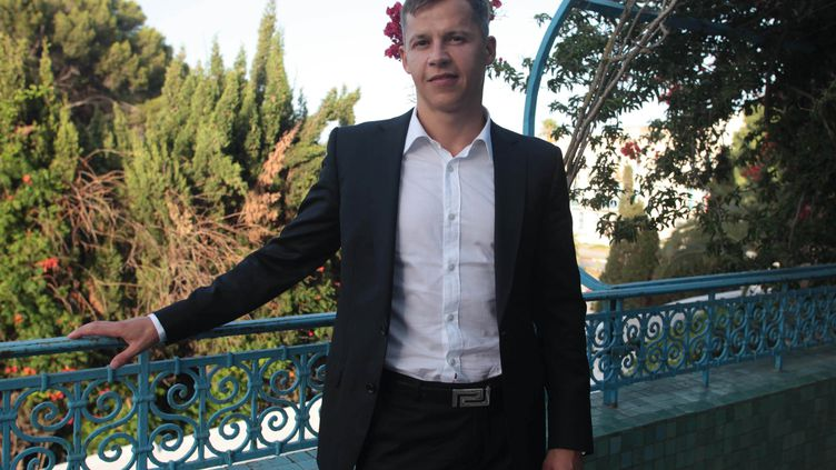 Boris Boillon, alors qu'il était ambassadeur de France en Tunisie, le 26 juillet 2012 à Tunis. (MOHAMED HAMMI/SIPA)