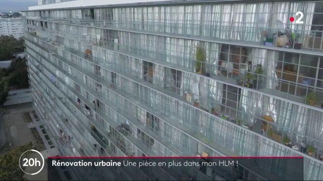 Rénovation urbaine : des HLM transformés sans être détruits