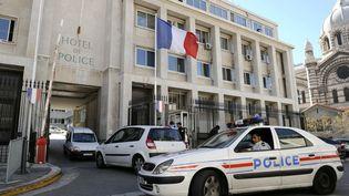 L'hôtel de police de Marseille le 5 octobre 2010. (ANNE-CHRISTINE POUJOULAT / AFP)