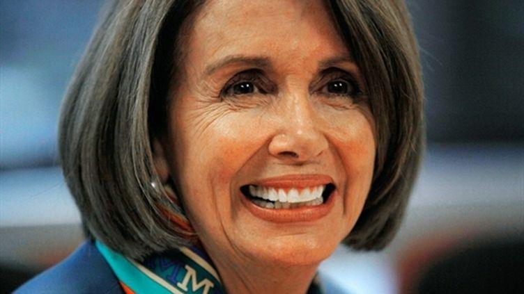 Nancy Pelosi, ex-speaker de la chambre des représentants, garde son siège de représentante en Californie (02/11/2010) (AFP/Chip Somodevilla/Getty Images)