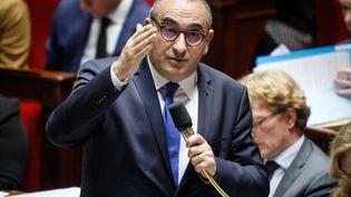Le secrétaire d'Etat auprès du ministre de l'Intérieur, Laurent Nuñez, le 7 janvier 2020 à l'Assemblée nationale. (MAXPPP)