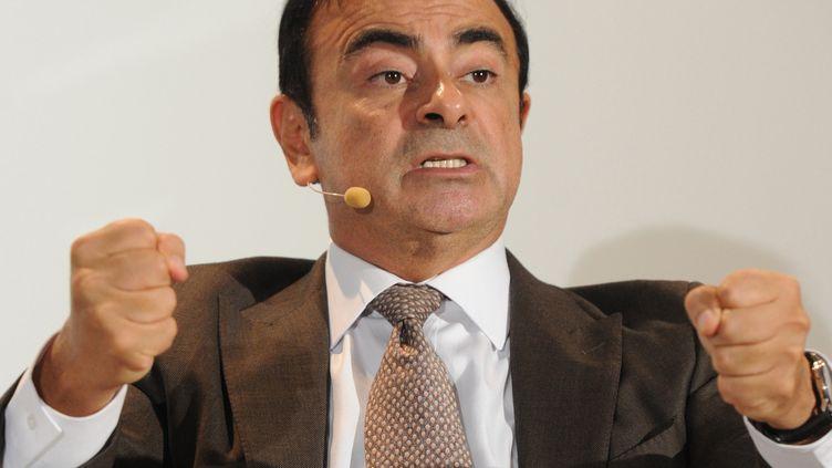 Carlos Ghosn, le 28 septembre 2012, à Paris. (ULI DECK / DPA)