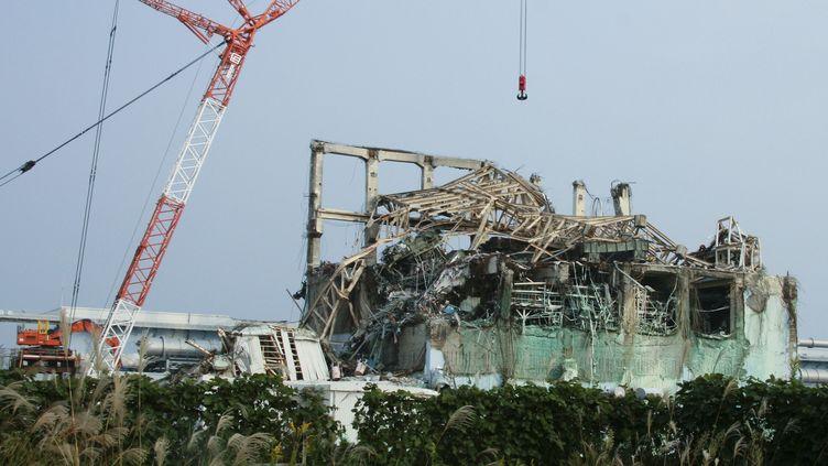 La centrale nucléaire de Fukushima, le 11 octobre 2011,très endommagée après le tsunami qui a frappé en mars 2011 le Japon. (IAEA / REUTERS)