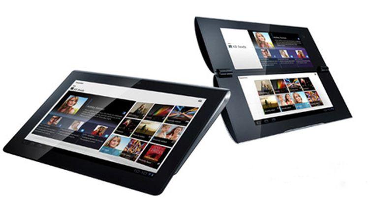 Les deux tablettes de Sony, la S1 à gauche, la S2 à droite (Sony)