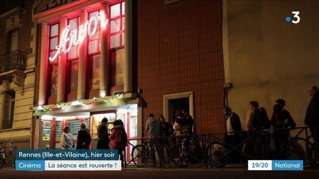 Déconfinement : à Rennes, les spectateurs étaient au rendez-vous dès minuit