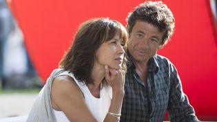 Sophie Marceau et Patrick Bruel, le 22 août dernier au Festival du film francophone d'Angoulême.  (Nossant/Sipa)