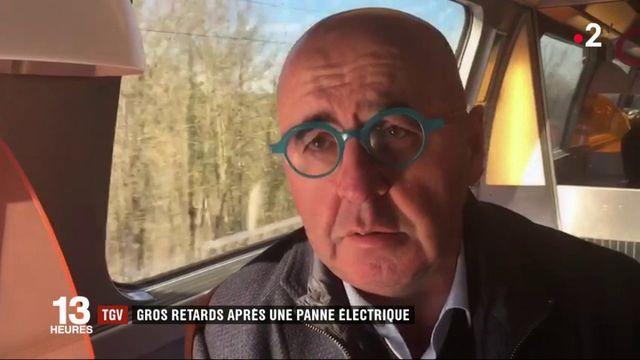 TGV : gros retards, entre Paris et le sud-est, après une panne électrique
