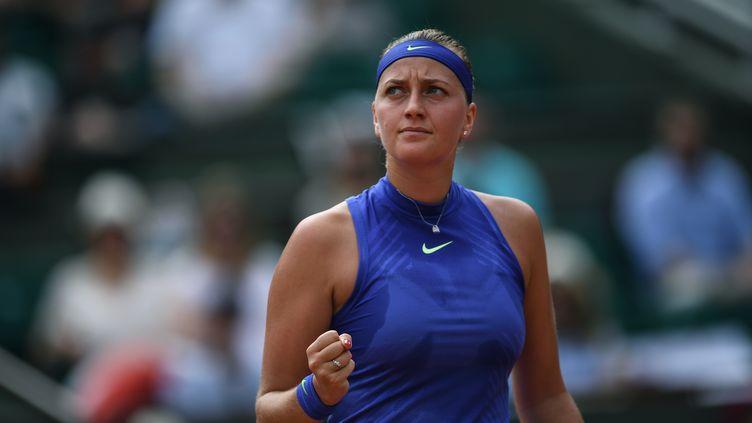 La joueuse tchèque Petra Kvitova. (ALEXEY FILIPPOV / SPUTNIK)