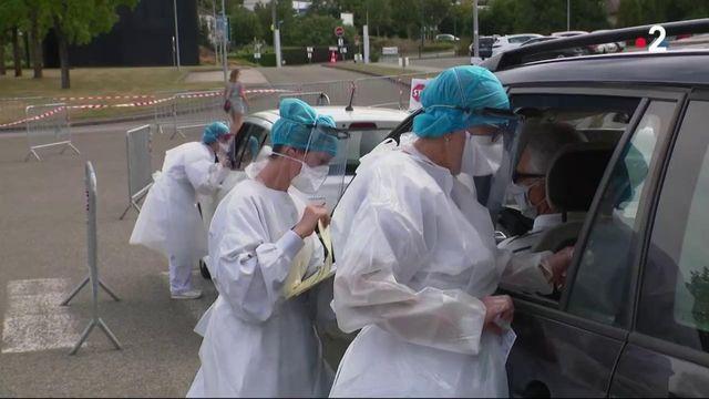 Mayenne : des tests en série pour traquer le coronavirus
