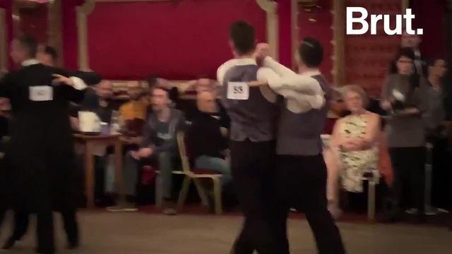 """Maxime et Sébastien participent à des compétitions """"same sex"""" et militent pour une danse non genrée. Voilà pourquoi."""
