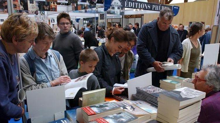 "Festival International du livre ""Etonnants voyageurs""  (Photopqr/Ouest France)"