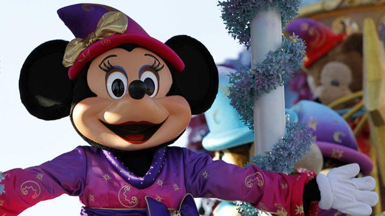 (Le parc Disneyland Paris visé par une plainte de l'Unapei © Maxppp)