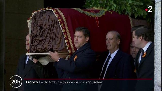 Espagne : la dépouille de Franco déplacée de son mausolée vers un cimetière discret