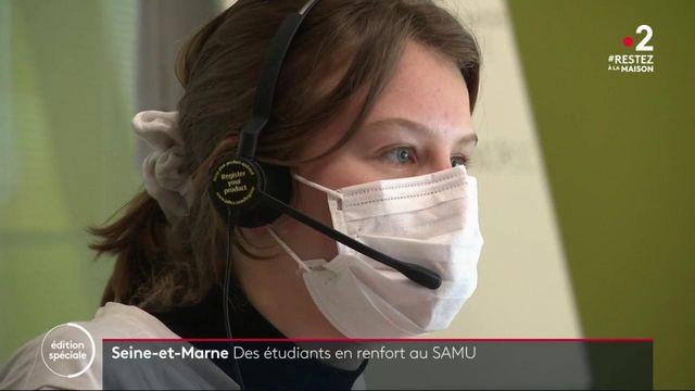 Coronavirus : des étudiants en médecine à la rescousse