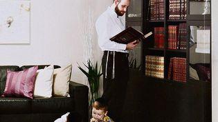 Une capture d'écran du catalogue Ikea à destination de la communauté ultra-orthodoxe en Israël. (IKEA)