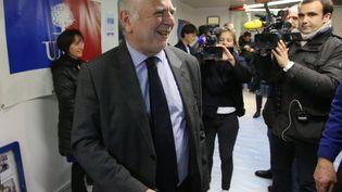 Gérard Menuel à Troyes, dans l'Aube, le 14 décembre 2014. (MAXPPP)