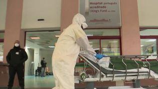 Hôpital au Portugal. (FRANCE 2)