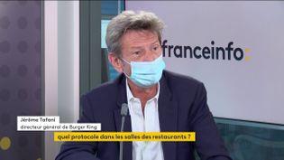 Jérôme Tafani, directeur général de Burger King (FRANCEINFO / RADIOFRANCE)