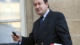 Bernard Squarcini, alors patron du renseignement intérieur, à l'Elysée, le 13 novembre 2008. (PHILIPPE WOJAZER / REUTERS)
