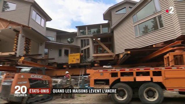 Etats-Unis : quand les maisons lèvent l'ancrage